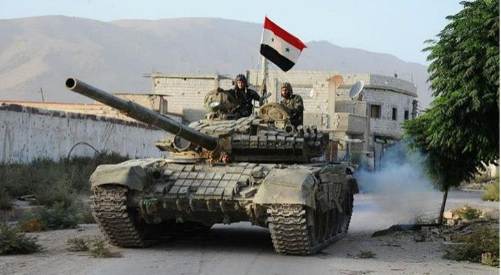 """""""سانا"""": الجيش السوري يدخل مدينة درعا البلد"""