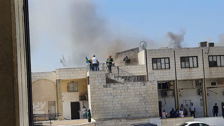 اندلاع حريق في بلدية شفاعمرو
