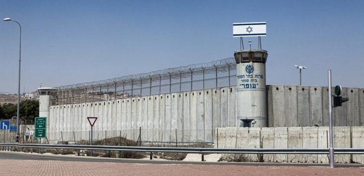 الاحتلال يخشى وجود أنفاق داخل سجن بئر السبع