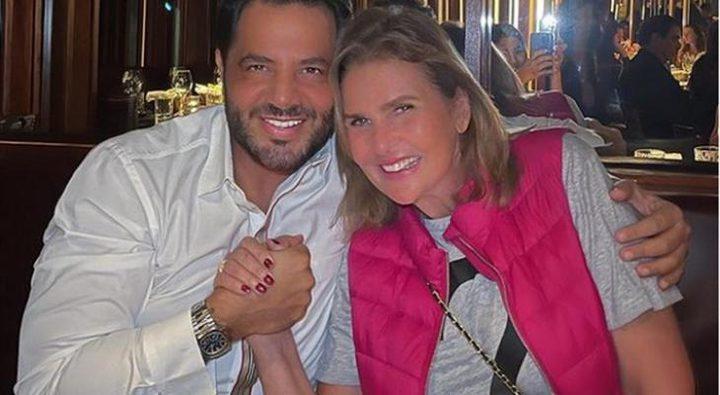 الإعلامي اللبناني نيشان ينشر صورة له مع الفنانة يسرا