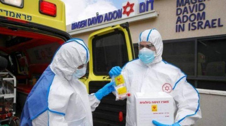 صحة الاحتلال : 15 وفاة و7813 إصابة جديدة بكورونا