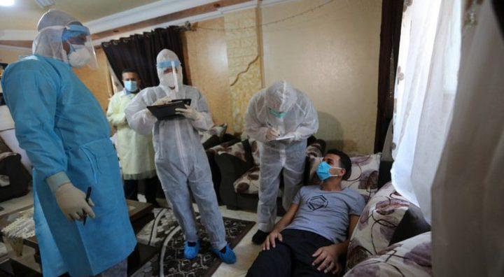 صحة غزة: 4 وفيات و1371 إصابة جديدة بفايروس كورونا