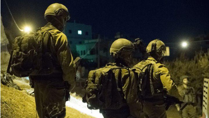 قوات الاحتلال تقتحم اللبن الشرقية جنوب نابلس و تعتقل شاباً