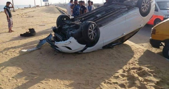 غزة:إصابتين في حادثي سير منفصلين خلال 24 ساعة الماضية