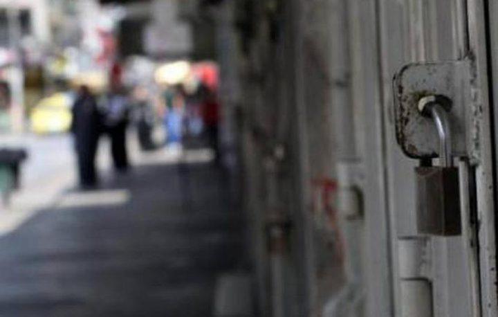 جنين: إضراب شامل تضامنا واسنادا للأسرى في سجون الاحتلال
