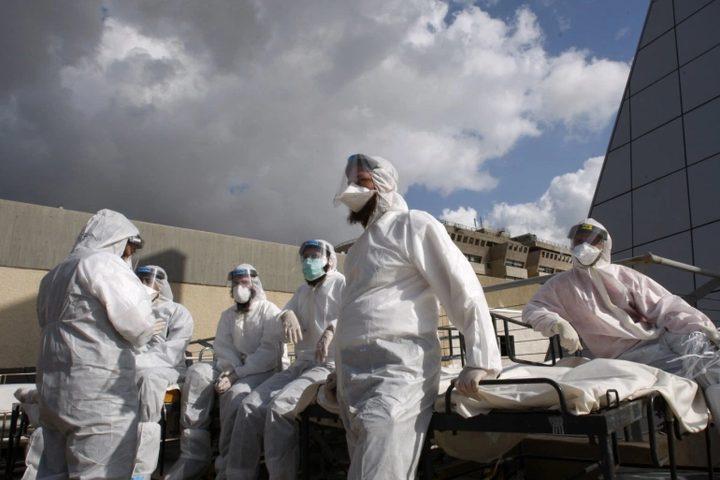 تسجيل معدل اصابات قياسي جديد بكورونا في إسرائيل