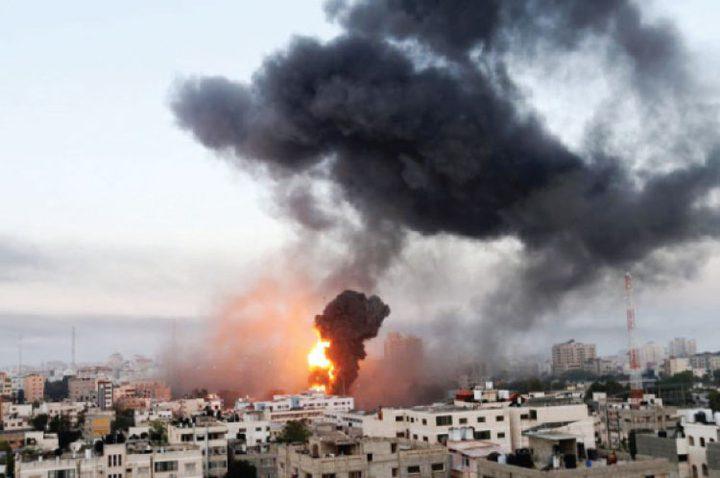 طائرات الاحتلال تقصف مواقع في غزة
