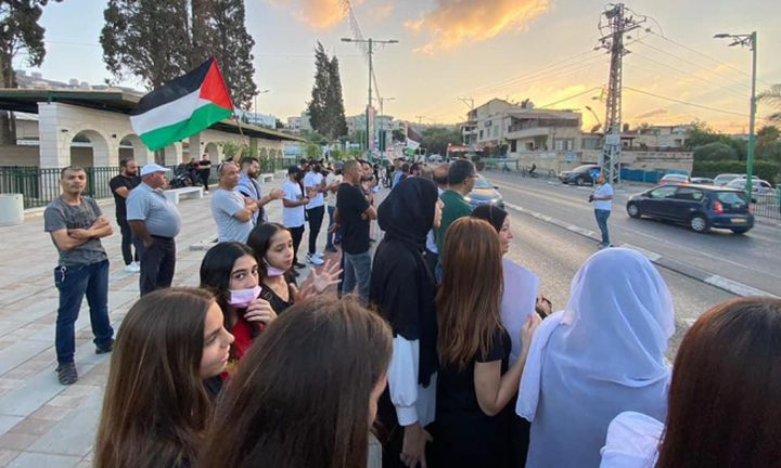 كفر كنا: تنظيم وقفة إسنادية للأسرى في سجون الاحتلال