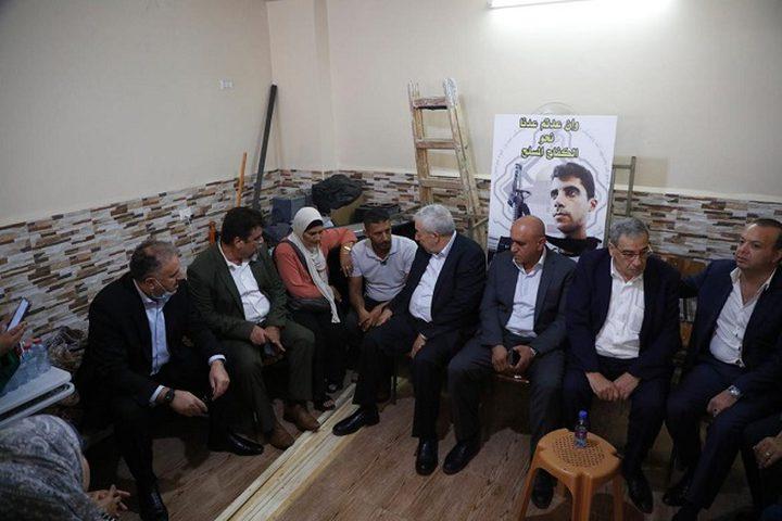 """ثوري فتح يجتمع في جنين دعما وإسنادا لأسرى سجن """"جلبوع"""" الستة"""