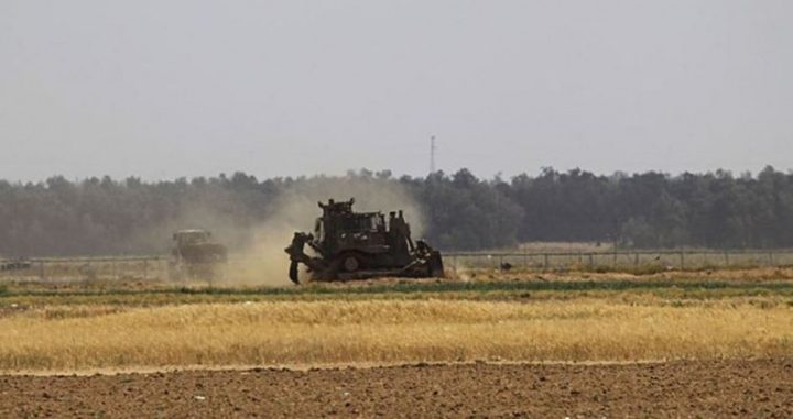 توغل إسرائيلي محدود شمالي قطاع غزة