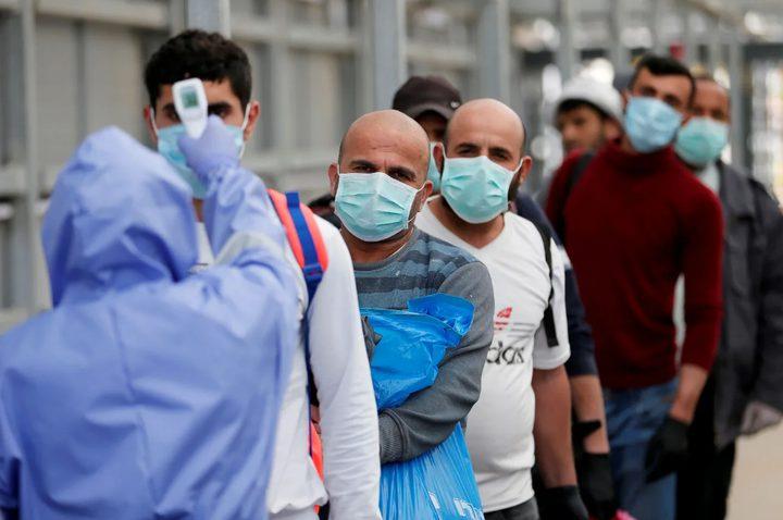 الأردن تسجل 9 وفيات و1086 إصابة جديدة بفيروس كورونا
