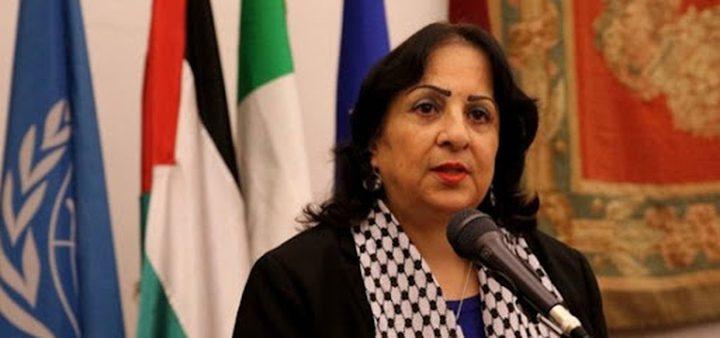 وزيرة الصحة تكشف تفاصيل إتلاف شحنة لقاحات كانت في طريقها لغزة