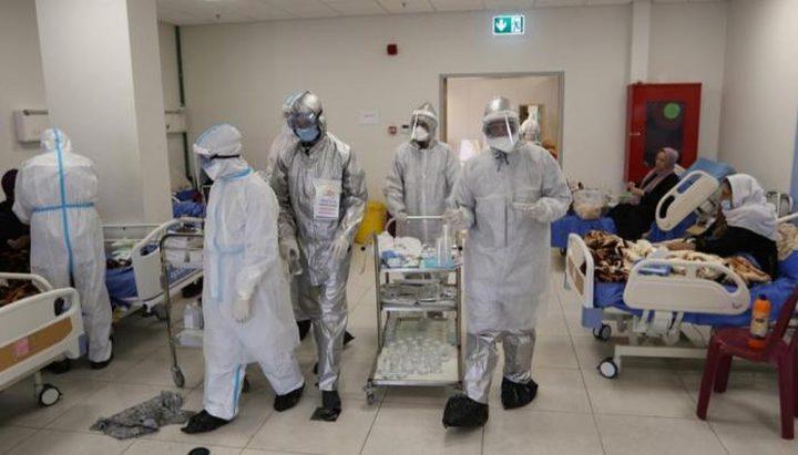 غزة: 10 حالات وفاة و 1527 إصابة جديدة بفيروس كورونا