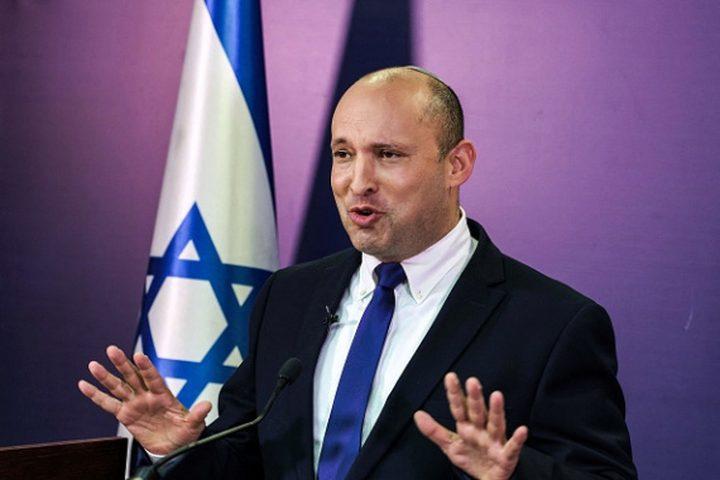 """بينيت: لن يتم اللإفراج عن أسرى لطخت أيديهم بدماء الاسرائيليين"""""""