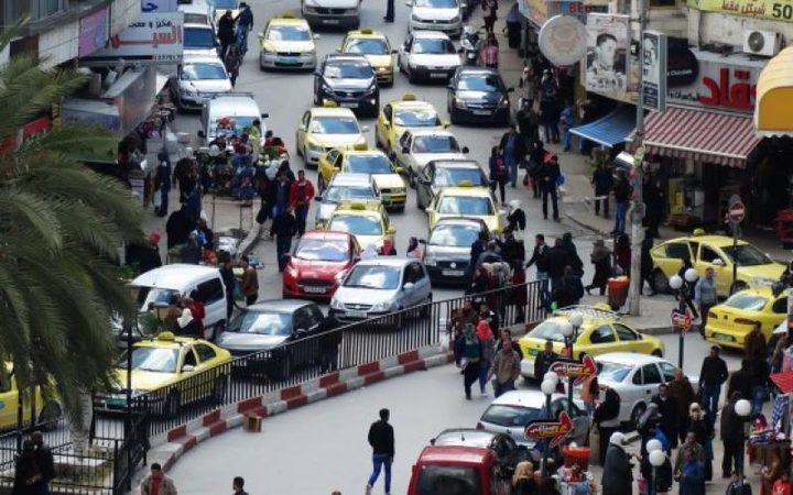 أبو عيشة: مدخل نابلس الغربي يعاني من أزمة مرورية خانقة