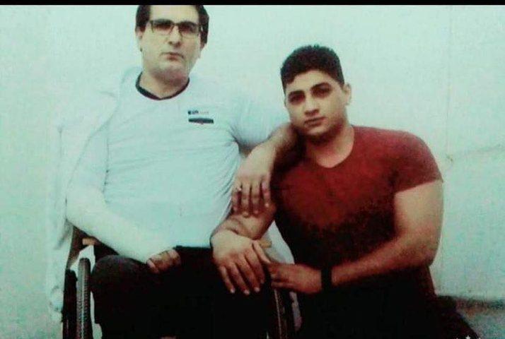 لقاء الأسير المقعد خالد الشاويش بإبنه داخل المعتقل..وللقصة بقية