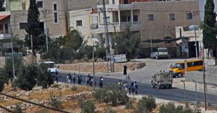 إصابة طالب برصاص الاحتلال خلال مواجهات قرب مدرسة تقوع