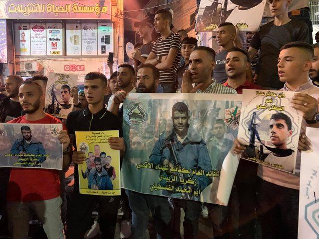جنين: مسيرات تضامنية مع الأسرى في سجون الاحتلال