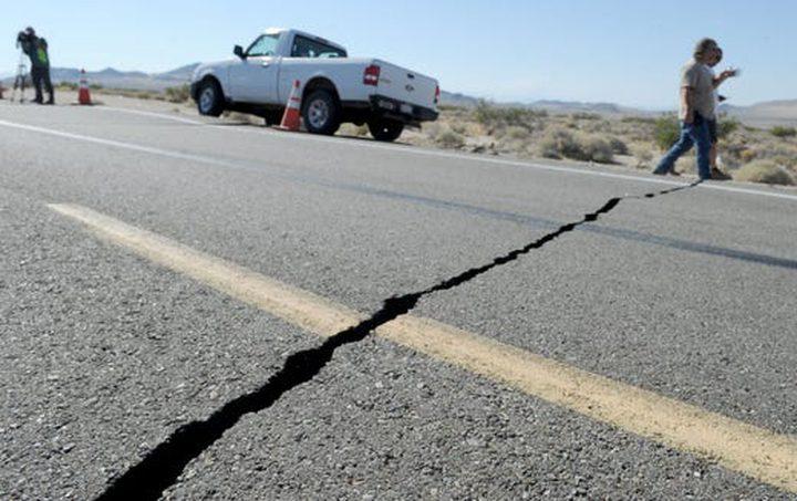 زلزال بقوة 4,3 درجة على مقياس ريختر في كاليفورنا