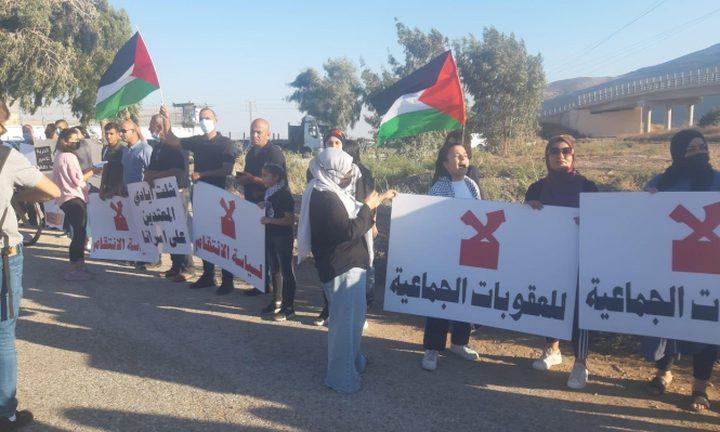 """تظاهرتان في كفر كنا وأمام سجن """"جلبوع"""" دعما لأسرى الحرية"""