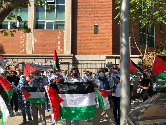 وقفة تضامنية في مدريد نصرة للأسرى في سجون الاحتلال