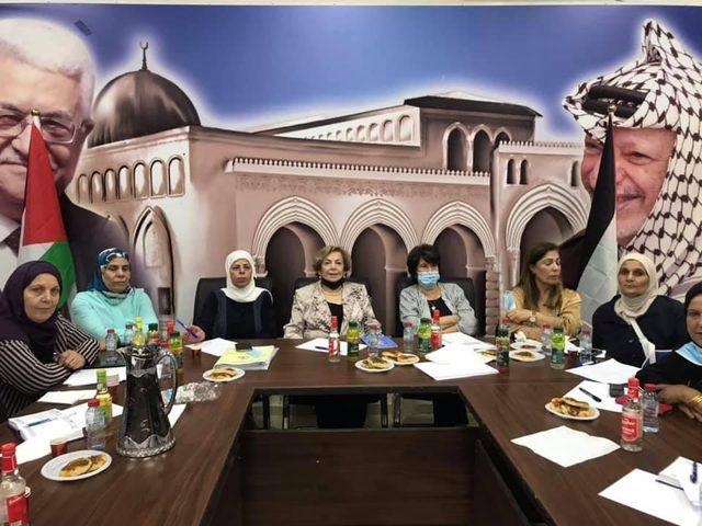 الاتحاد العام للمرأة يعقد اجتماعا تحضيريا لمؤتمره العام في جنين
