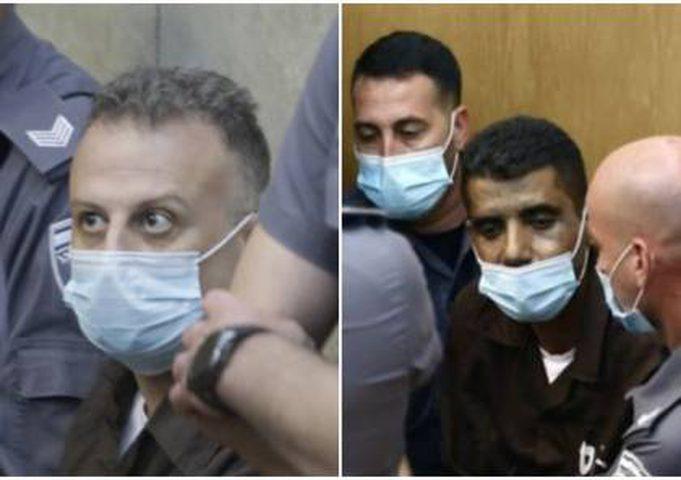 محكمة الاحتلال تمدد اعتقال الزبيدي وقادري 10 أيام