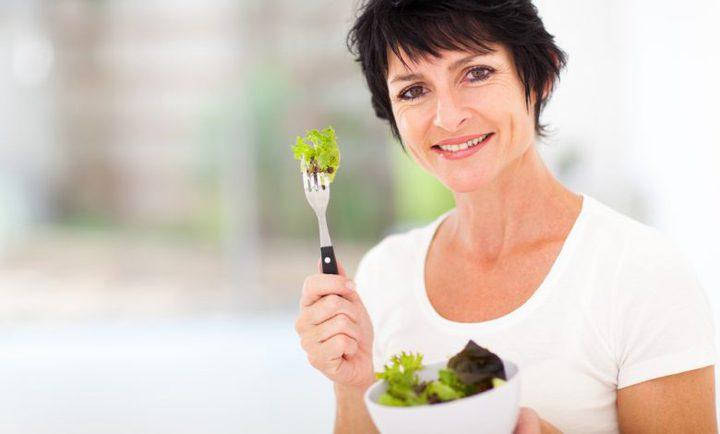أفضل نظام تغذية للنساء بعد سن الأربعين