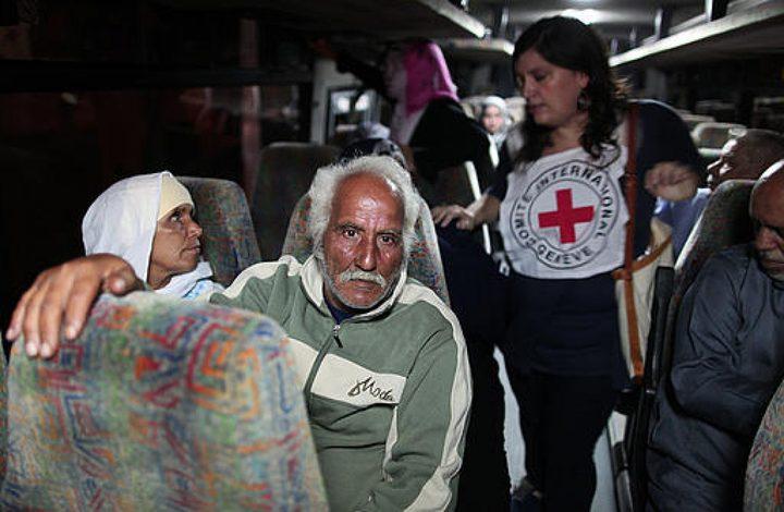 الصليب الأحمر يعلن برنامج الزيارات العائلية لأسرى جنين وطوباس