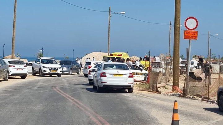مصرع شرطي احتلالي بحادث دهس في نهاريا وإصابة آخر على خلفية جنائية