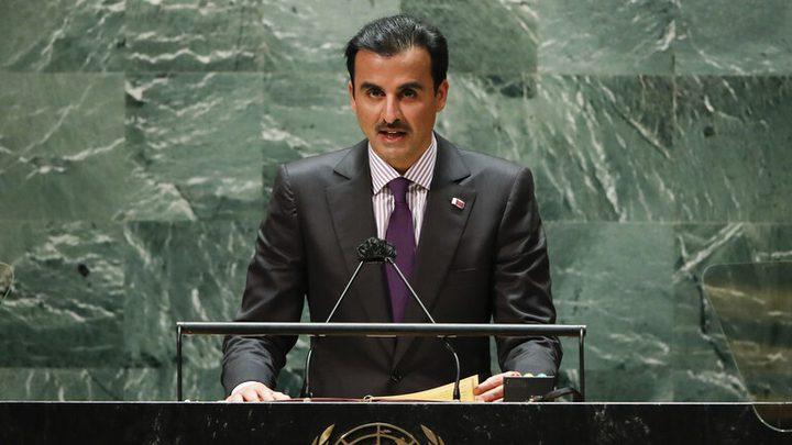أمير قطر: حرصنا على إحلال السلام والاستقرار والتعاون في المنطقة