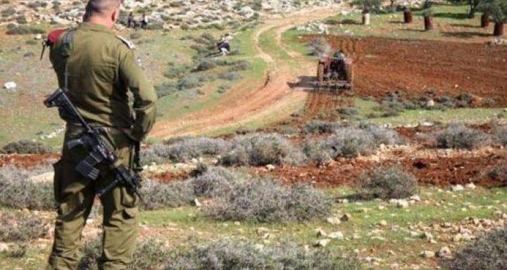 الاحتلال يستولي على مئات الدونمات في قرية كيسان شرق بيت لحم