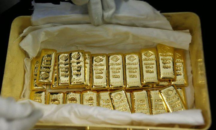 رصيد الذهب في الاحتياطي الأجنبي لمصر يسجل 66.7 مليار جنيه