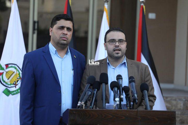 حماس: جاهزون لانتخابات شاملة متزامنة أو وفق جدول زمني محدد