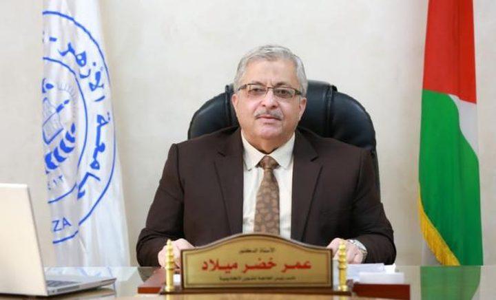 """رئيس جامعة الأزهر: ما حصل في الجامعة """"استفزاز مقصود"""""""