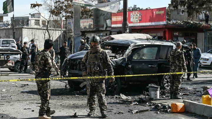 مقتل 5 أشخاص في هجوم بإطلاق نار و4 تفجيرات في مدينة جلال آباد