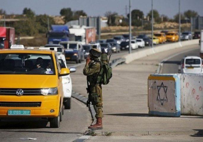 بيت لحم: قوات الاحتلال تنصب حاجزا عسكريا