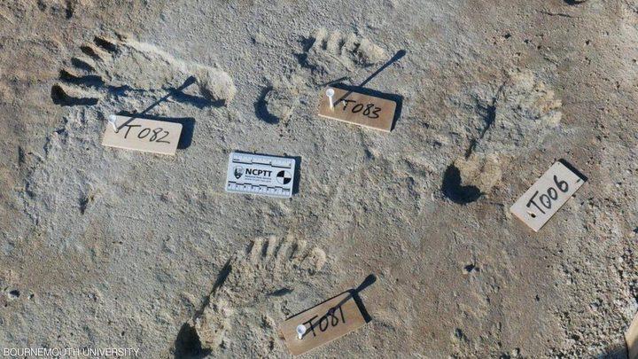 اكتشاف آثار أقدام عمرها 23 ألف سنة في أمريكا