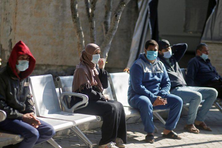 غزة : تسجيل 12 حالة وفاة و1745 إصابة جديدة بفيروس كورونا