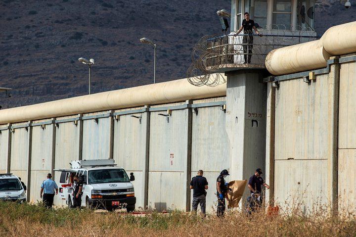 الاحتلال سينفق 37 مليون شاقل لزيادة تحصين سجن جلبوع