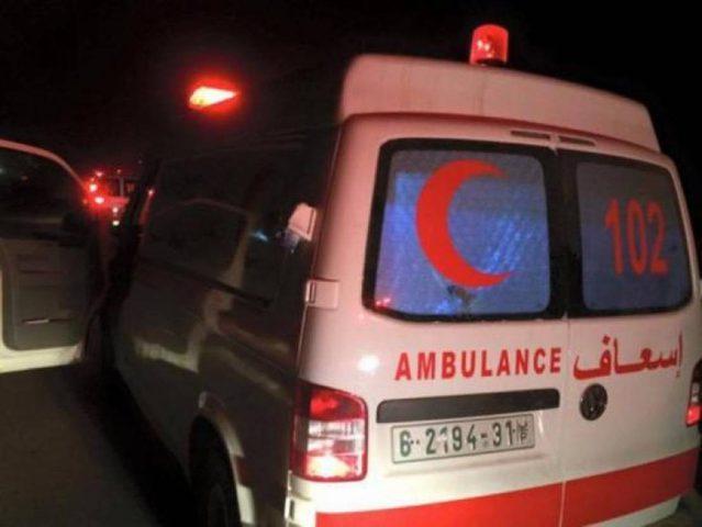 مصرع مواطن وإصابة 6 آخرين إثر حادث سير في جنين