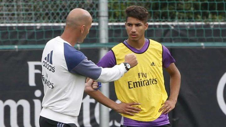 حكيمي: زيدان لم يكن وراء رحيلي عن ريال مدريد