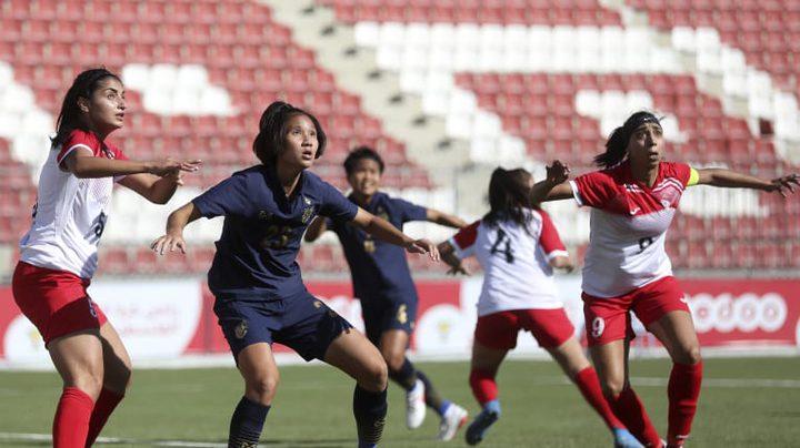 منتخبنا النسوي يسقط بسباعية أمام تايلاند بتصفيات آسيا