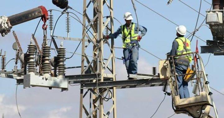 سلطة الطاقة: نجاح التشغيل التجريبي لمحولات الكهرباء في طولكرم