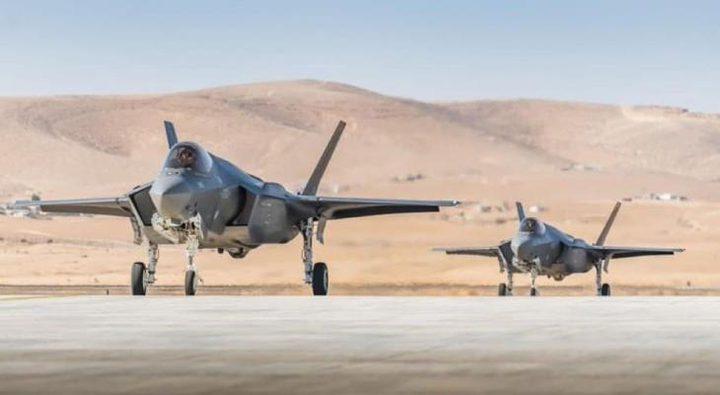 """""""إسرائيل"""" تدعم سلاحها الجوي بـ 3 طائرات """"F-35"""""""