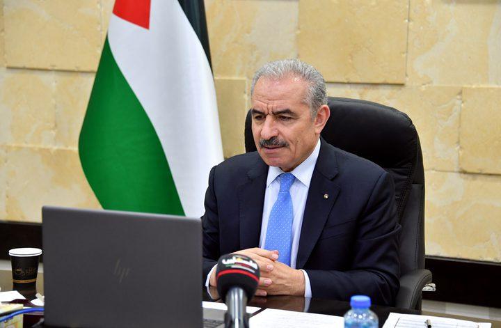 اشتية: الحكومة ستدرس تأجيل الانتخابات في غزة للمرحلة الثانية
