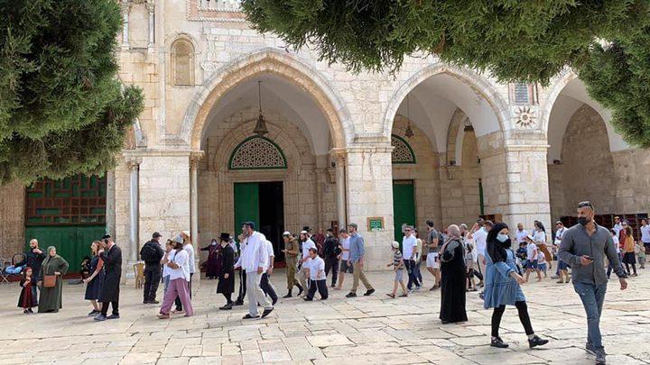 الهيئة الإسلامية المسيحية تحذر الاحتلال من مواصلة اقتحام الأقصى
