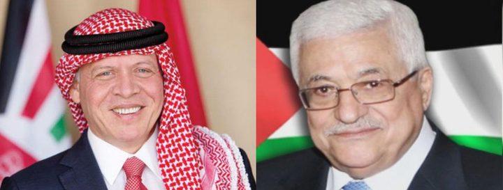 الرئيس يهاتف الملك عبد الله الثاني للاطمئنان على صحة ولي العهد