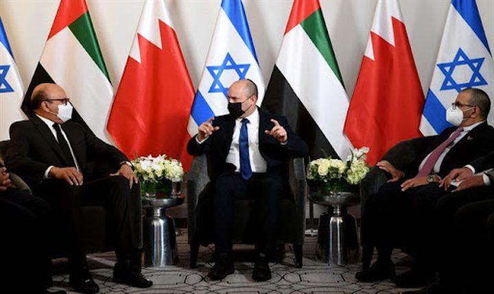 بينيت يلتقي وزيرين من الإمارات والبحرين في نيويورك