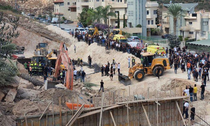 إصابة 10 عمال إثر انهيار جدار أثناء عملهم في كفر كنا
